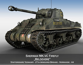 3D M4 Sherman MK VC Firefly - Beldevere