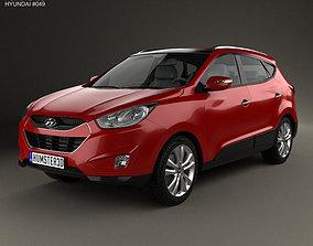 3D Hyundai Tucson ix35 US 2010