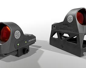 Sig Sauer Romeo3 Miniture Reflex Sight 3D asset