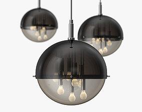 Gianelly - Globe ceiling light 1970s 3D