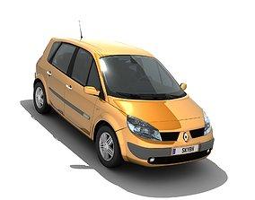 Renault Scenic II 2003 3D asset