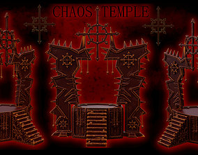 3D print model Chaos Temple or Stage