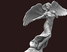 Angel Statue 3D printable model female