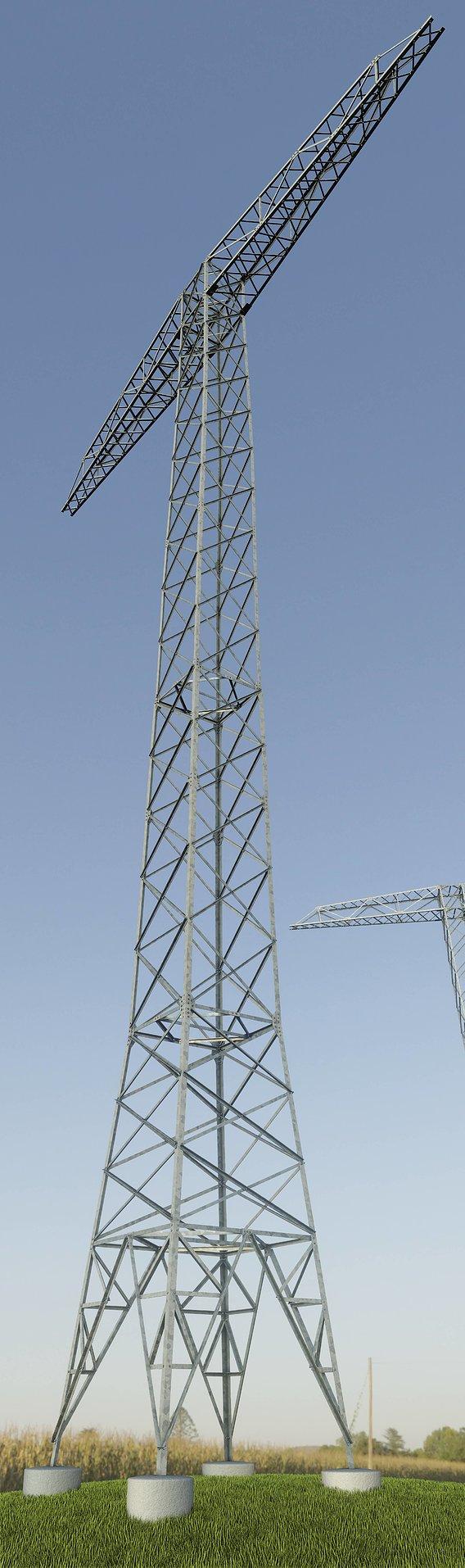 Transmission Tower 32 Meter
