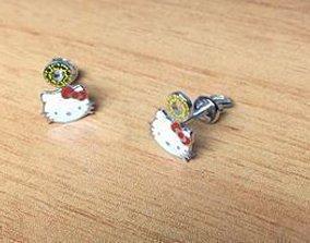 Earrings Kitty jewelry model