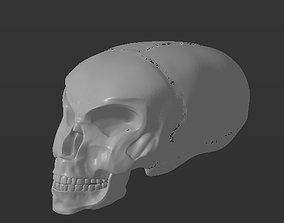 Alien skull 3D print model