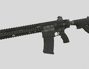 HK417 3D asset