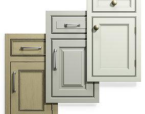 Cabinet Doors Set 14 3D