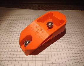 3D printable model KTM Windshield Bracket - 10 deg