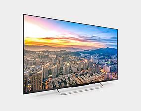 Smart TV 3D model living