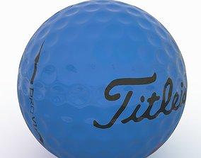 Gilf Ball Blue 3D model