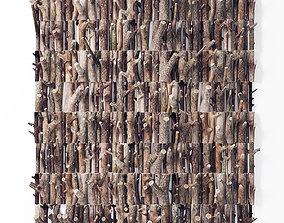Panel firewood 3D model