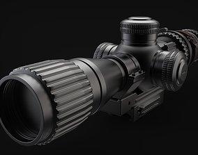 Sniper scope 3D model