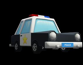 3D printable model Police Car