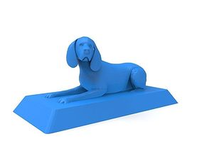 Beagle 3D print ready model