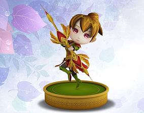 Little fairy 3D model