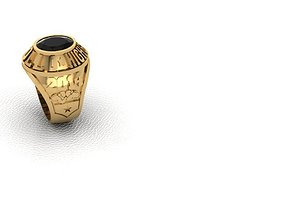Ring man highschool chris 3D printable model