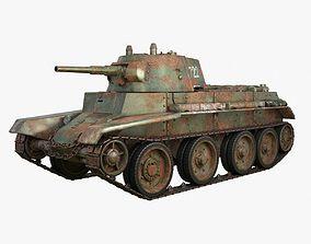 Tank BT 7 Soviet Iray piu 3D