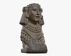 Chalchiuhtlicue Goddess of Water 3D model