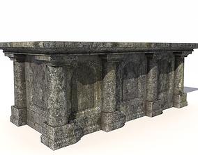 Old stone altar 6 3D model