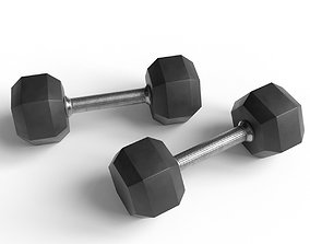 strength Dumbbells 3D