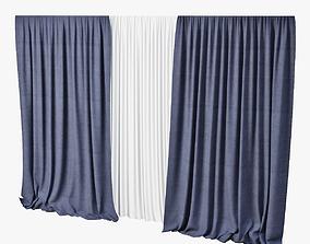 3D model Curtain fabric