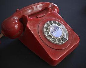3D model Vintage Telephone Rotary