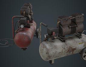 Air Compressor 3B 3D asset