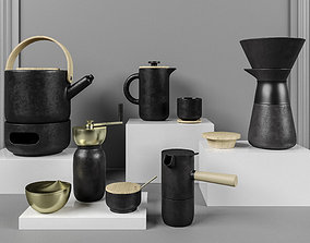 Stelton Coffee Set 3D