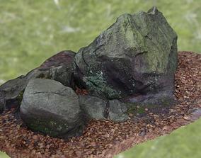 Large Scanned Sandstone Game-Ready 3D asset