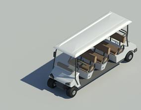 club Golf Cart 3D model