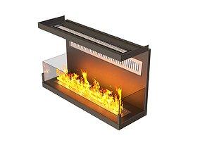 cotemporally fireplace 3D asset