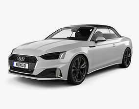 3D Audi A5 cabriolet with HQ interior 2019