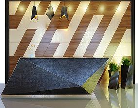 decor Reception 3D model