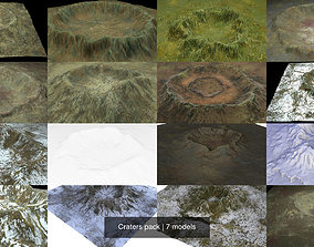 3D Craters pack