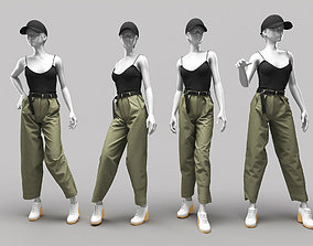 Woman Mannequin 9 3D model