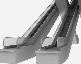 3D asset Escalators Unit at Haram Expansion