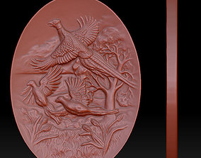 picture 3d model panels grouse