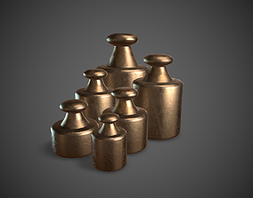 3D asset Scale Weights