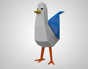 games-toys Seagull 3D printable model