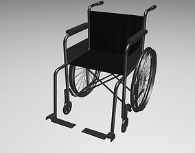 3D asset Wheelchair