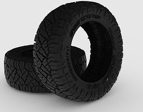 Nitto Ridge Grappler 4x4 Neumatic 3D printable model