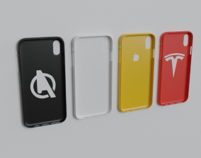 iPhone XS Max 3D Printable Cases Bundle cases