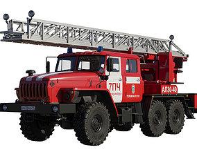 3D Fire ladder AL30-40