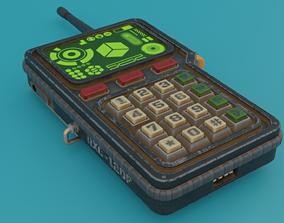 Walkie-talkie 3D model realtime