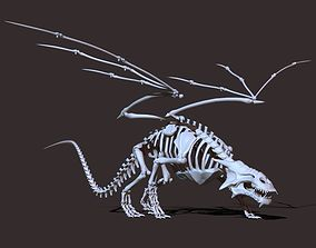 3D model Dragon Skeleton
