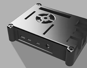 Raspberry pi 4 case 3D print model