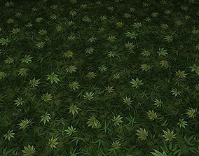 3D ground leaf tile 17
