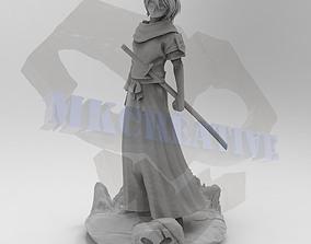 3D print model Rukia