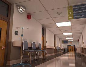 Hospital Hallway 1 3D